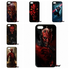 For iPhone 4 4S 5 5C SE 6 6S 7 Plus Galaxy J5 J3 A5 A3 2016 S5 S7 S6 Edge sith star wars darth maul dark side Cell Phone Cover