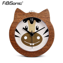 Fibisonic Chinese Zodiac series Horse popular alarm clock No Ticking Snooze Backlight Digital Clock, Desktop Table Clocks(China)