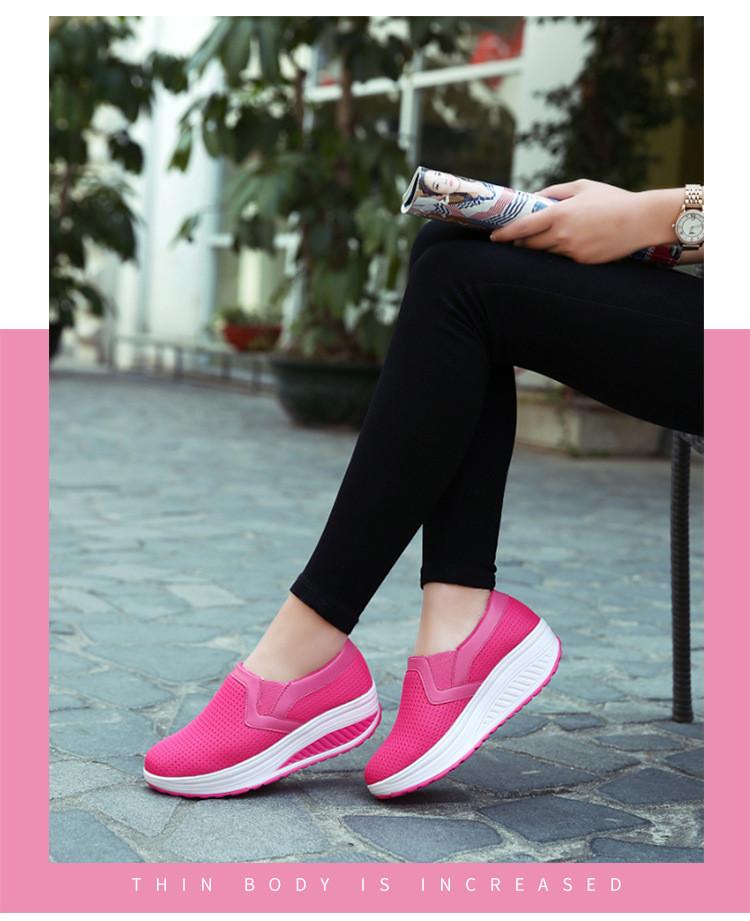 RS 3308 (12) 2017 Autumn Women's Platform Shoes
