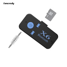 Car USB Bluetooth Aux  Receiver Adapter Support TF Card Aux Audio Bluetooth Handsfree Car Kit A2DP Stereo Mp3 Music Receiver