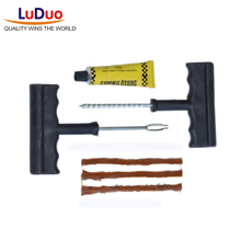 Buy 1 Set Professional Auto Car Bike Tire Repair Tool Kit Cement Tubeless Tires Tyre Puncture Plug Repair Glue Kit car accessories for $1.88 in AliExpress store