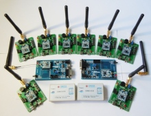 CC2540 Bluetooth low power enterprise development kit, 8 module, +8 backplane, +2 emulator, +2 analyzer(China)
