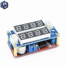 Hot Selling 1PC 5A Adjustable Power CC/CV Step-down Charge Module LED Driver Voltmeter Ammeter Constant current constant voltage