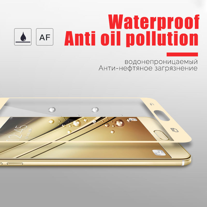 9H-3D-Tempered-Glass-For-Samsung-Galaxy-J5-J7-A3-A5-2017-Full-Cover-Screen-Protector