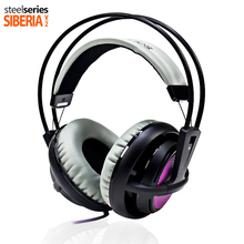 Upgraded SteelSeries Siberia v2 200  Headphones 3.5mm Connector Gaming Circumaural fone de ouvido Noise Isolating Headsets