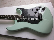Free shipping wholsale ERMIK ST green COLOR BRAND electric guitar/guitar china(China)