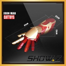 [Show.Z Store] Cattoys MK42 Arm Right/ 1/1 LED Armor Hand For Iron Man MK42 Mark42 XLII 4Wearable Blaster Gauntlet Arm Hand