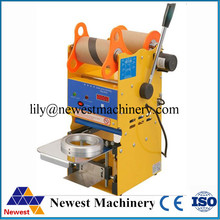 220V /110V cup sealing machine small size big capacity digital cup sealing machine(China)
