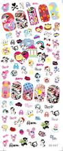 DS047 Water Transfer Foils Nail Art Sticker Harajuku Little Element Manicure Decals Minx Nail Decorations Stickers for Nail
