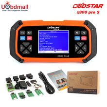 Original OBDSTAR X300 PRO3 Auto Key Programmer +OBD Mileage Adjustment + EEPROM + OBD Diagnostic Tool PK CK100 SKP900 X100 PAD2(China)