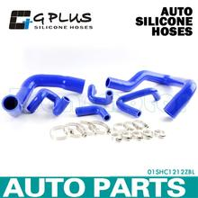 Silicone Radiator Heater Hose Kit Fit For FORD MUSTANG V8/V6 MT 1979-1993 Blue(China)