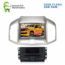 "8"" Android 6.0 Autoradio For Chevrolet Captiva 2012+ DVD GPS Navigation Stereo WiFi Rear Camera 2GB RAM 32GB Flash 8 Core CPU"