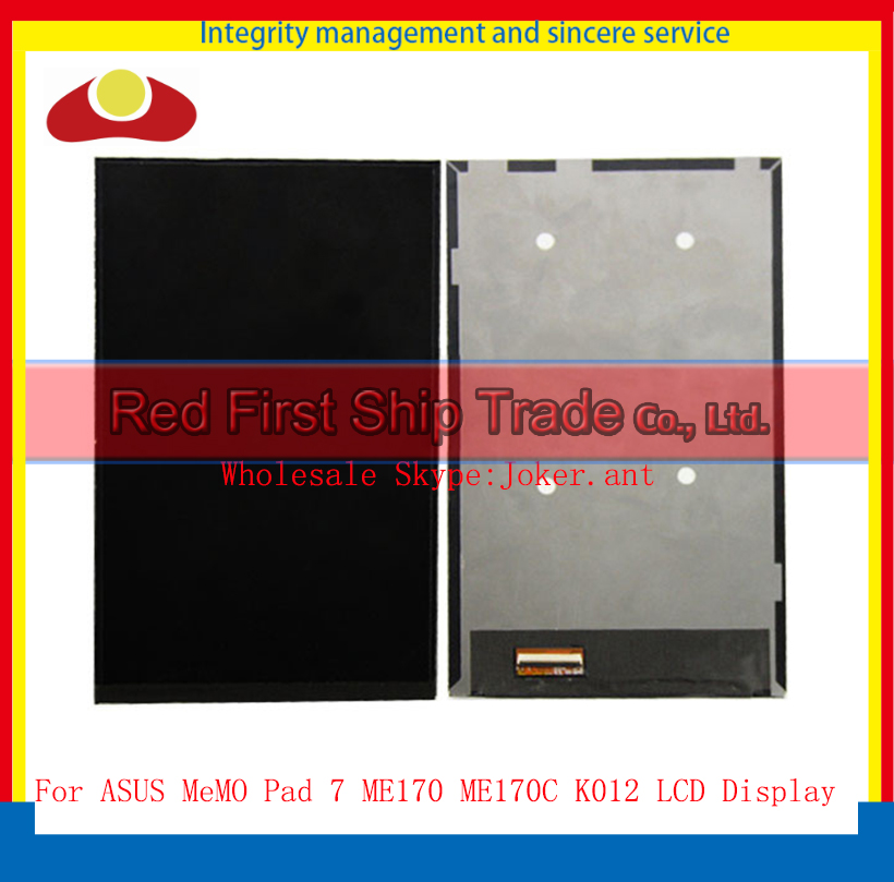 High Quality 7.0 For ASUS MeMO Pad 7 ME170 ME170C K012 Display LCD Screen Free Shipping+Tracking Code<br><br>Aliexpress