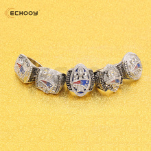 NEW ENGLAND PATRIOTS RING SET WITH BOX FOR MAN WITH BOX THAT A BEST YEAR 2001 2003 2004 2014 2017(China)