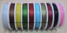 Copper Tiger Tail Beading Wire Cord Finding , Memory wire, Jewerly Cord, Tiger tail wire 10rolls/1000meters