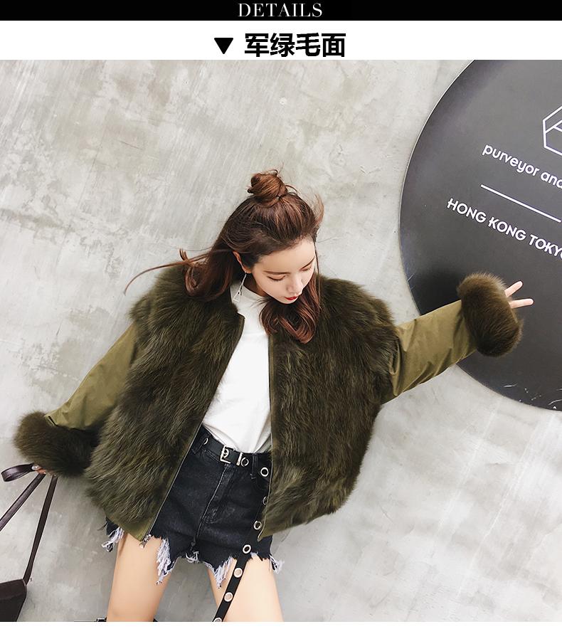 new styles fox fur jacket for women (15)