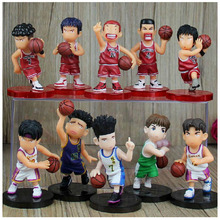 Best Collection PVC Slamdunk Action Figure Sakuragi Hanamichi Anime Model Play Basketball Educational Toy Boys Christmas Gift(China)