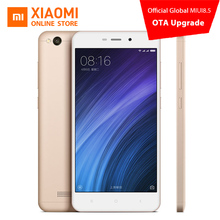 Global Version Original Xiaomi Redmi 4A Mobile Phone Snapdragon 425 Quad Core CPU 2GB RAM 16GB ROM 13.0MP Camera 3120mAh Battery(China)