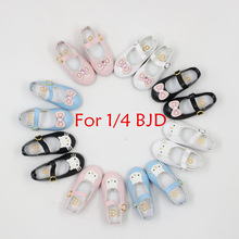 1/4 BJD shoes Kitty and Bow eight differents styles Cute not for Blyth doll