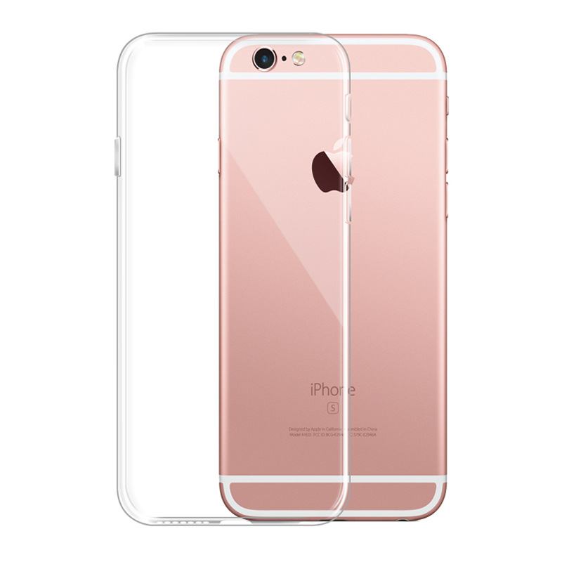 Phone Cases For iPhone 7 7 Plus For 6 6s 6Plus Back Cover With Soft Silica Gel TPU Transparent Silicone Ultra Thin Clear Case(China (Mainland))
