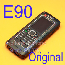 Original nokia e90 mobile cell phone 3g gps wifi 3.2mp do bluetooth de smartphones