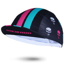 Genuine Meikroo skull pattern Multicolour Cycling Cap City Bike Cap One Size(China)