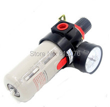 "Free Shipping 1/4"" Pneumatic Source Treatment Unit BFR2000 , Air Filter Pressure Regulator"