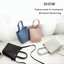 2017 Direct Selling Promotion Hasp Summer Women Shoulder Bag Minimalist Boston Coin Purse Female Messenger Small Mobile Phone