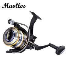 Mavllos 2017 Newest 5.2:1 Ratio Freshwater Spinning Fishing Reel Carp Reel Long Cast Baitrunner Fishing Spinning Reel 3000 6000(China)