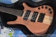 Warw LTD Corvette 5 strings natural wooden electric bass Top quality