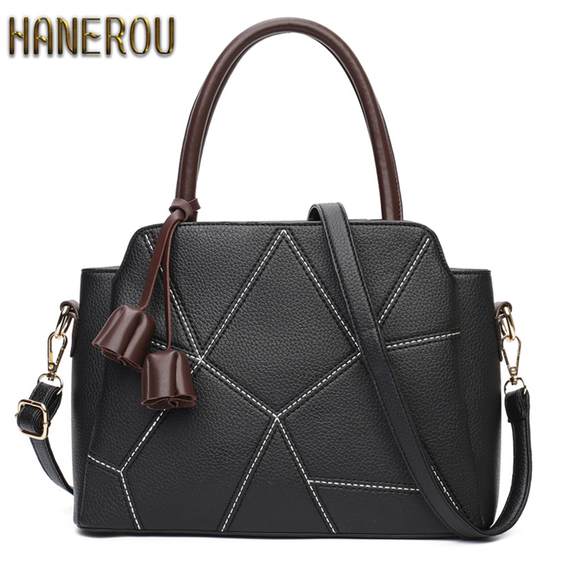 Luxury Handbags Women Bags Designer 2017 Fashion PU Leather Women Shoulder Bag Big ladies Hand Bags Shell Tassel Tote Bag Sac<br><br>Aliexpress