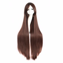 100cm White Ladies Cosplay Wigs Straight Wigs(NWG0CP60917-BN2)(China)