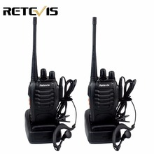2pcs Retevis H777 Walkie Talkie 3W UHF 400-470MHz Frequency Portable Radio Set Ham Radio Hf Transceiver Handy Two Way Radio