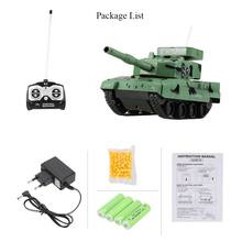 Original 3881 1/30 27MHz Super RC BB Cannon Airsoft Tank with 6mm BB Bullets Tank RC Toys for Kids