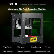 DK-8-FKZ 1500mW Mini USB Laser Engraver Carver High Speed Automatic DIY Print Engraving Carving Machine Off-line Operation