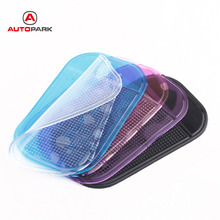 5Pcs Car Anti Slip Mat Magic Sticky Pad Mobile Phone Holder Car Dashboard Silica Gel Sticky Pad Anti-Slip Mat For GPS MP3 MP4