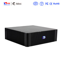 Popular Fashionable Desktop Computer Case Mid Tower Mini ITX Self-Powered Aluminum HTPC Media player Case E-N3(China)