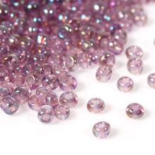 8SEASONS 100 Gram AB Color Glass Seed Beads 10/0 Jewelry Making (B09080)