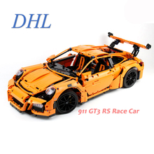 2017 New Technic Series 2704Pcs 911 GT3RS Race Car Model Building Kit Block Brick Toy Gift Compatible With 42056