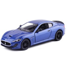 1:38 Scale 2016 Maserati MC Stradale Pull Back Diecast Toy Car Model Educational For Kids Gifts Toy Collection Free Shipping(China)