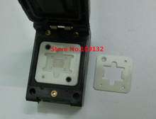 BGA63 0.8MM IC programmer adapter/BGA63 IC Test Socket /BGA63 to 48 burning socket/BGA63  two 9*11MM 10.5*13.5MM Matrix