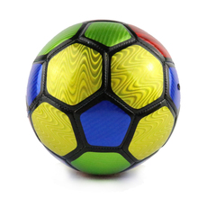 Colorful PVC Kids Football Ball Size 3 Machine-sewn Soccer Ball For Training Soccer Equipment Football 2017
