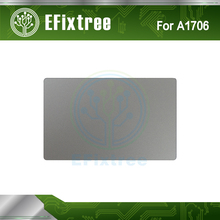 New Original A1706 Trackpad Track Pad Touchpad silver for Macbook Pro Retina 13'' 13.3 inch A1706 silver 2016 Year(China)