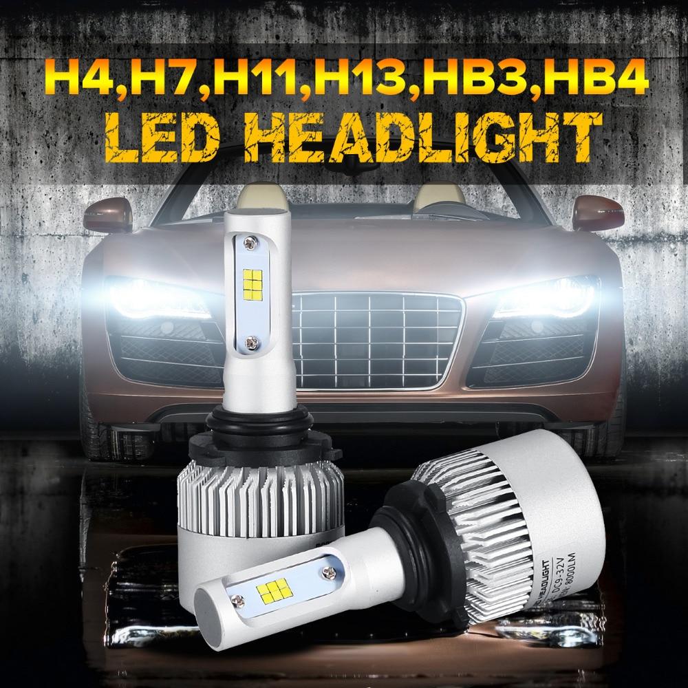 Oslamp Hi-Lo Beam/Single Beam CREE CSP Chips H4 H7 H11 H13 9005/HB3 9006/HB4 Led Headlights 6000K Automobile Led Headlight Bulbs<br><br>Aliexpress