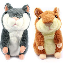Hot Selling Russian Talking hamster wooddy time stuffed animal toys speaking kid Toy repeat what u said in any language(China)