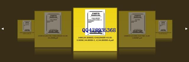 HYSTER Hypass Parts Manual [2011]<br><br>Aliexpress