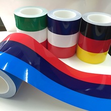 Yourart Car Styling Racing Stripes Sticker Vinyl Flag Car Stickers and Decals Car Accessories For Audi BMW Volkswagen Polo Golf