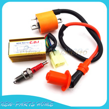Racing Ignition Coil 6Pin AC CDI Spark Plug For Dirt Bike 150cc 200cc 250cc ATV Quad(China)