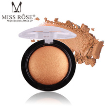 Miss Rose Single Eye Shadow Powder Makeup Palette in Shimmer Metallic Glitter Cream Eyeshadow Palette for Eyes Make(China)