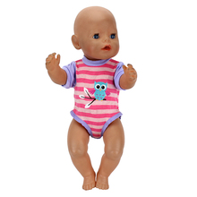 1pcs Fashion Dress Wear For 43cm Zapf Doll 17 Inch Reborn Babies Clothes